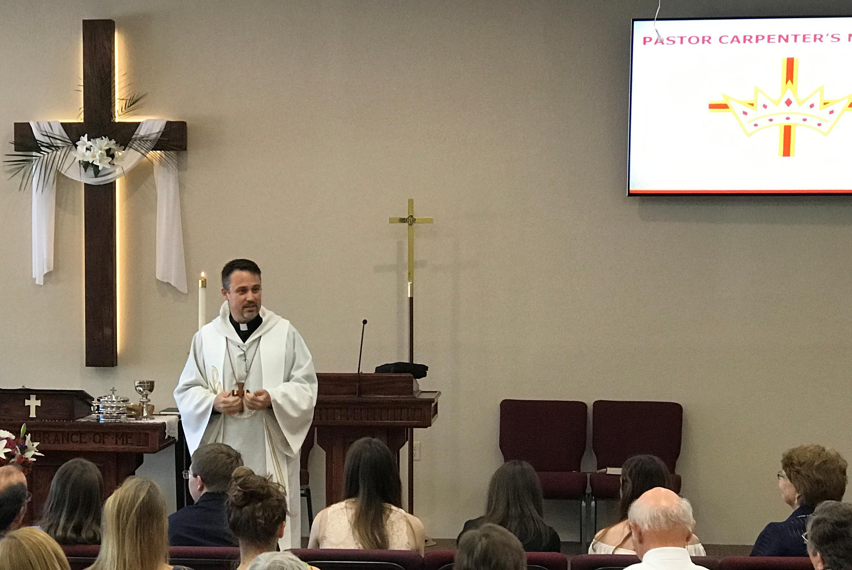 pastor speaks