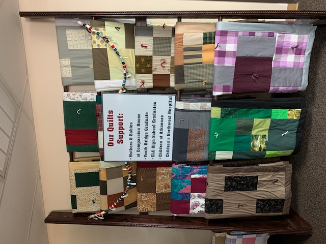 10-Quilts are made for many groups