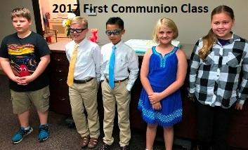 Featured Event 5-First Communion Graduates